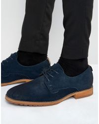 Call It Spring - Edaussi Suede Derby Shoes - Lyst
