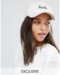 Adolescent Clothing - Tequila Embroidered Baseball Cap - Lyst