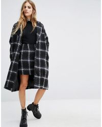 Motel   Checked Wool Ernest Coat Co-ord   Lyst