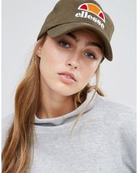 Ellesse - Baseball Cap In Khaki - Khaki - Lyst