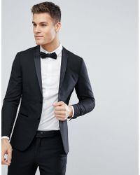 Jack & Jones - Premium Slim Tuxedo Jacket - Lyst