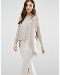 Subtle Luxury - Cashmere Loose & Easy Jumper In Wheat - Lyst
