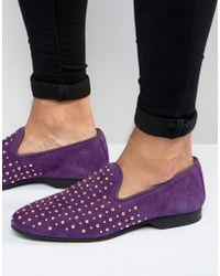 House Of Hounds - Emperor Studded Loafers - Lyst