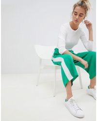 ASOS Side Stripe Culotte