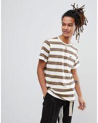Volcom - Belfast Striped T-shirt - Lyst
