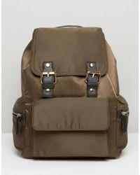 Miss Selfridge - Buckle Detail Backpack - Lyst