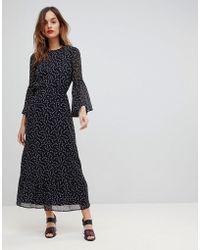 Y.A.S - Printed Soft Maxi Dress - Lyst