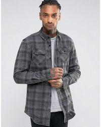 Criminal Damage - Check Shirt - Lyst
