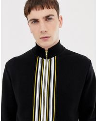 ASOS - Two-piece Track Jacket With Striped Taping - Lyst