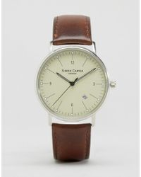Simon Carter - Brown Leather Watch - Brown - Lyst