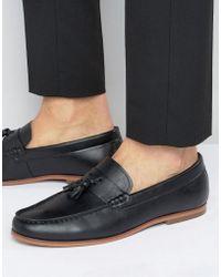 Lambretta - Tassel Loafers In Black - Lyst