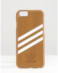 adidas Originals - Originals 3 Stripe Iphone 6/6s Case In Sand - Lyst