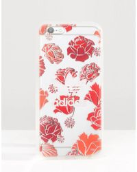 adidas Originals - Originals Translucent Iphone 6/6s Case In Floral Print - Multicolour - Lyst