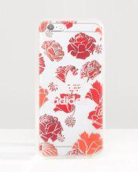adidas Originals - Originals Translucent Iphone 6/6s Case In Floral Print - Lyst