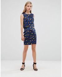 Madam Rage - Madam Leopard Print Bodycon Skirt - Lyst