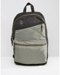 Volcom - Academy Backpack In Heather Black - Lyst