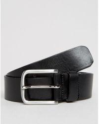 Royal Republiq - Double Patriot Leather Belt In Black - Lyst