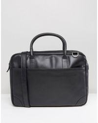 Royal Republiq - Explorer Leather Laptop Bag With Single Compartment - Lyst