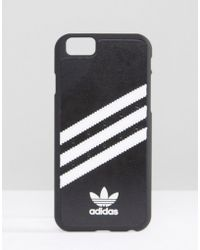 Adidas Originals | Iphone 6/6s Phone Case In Black - Black | Lyst