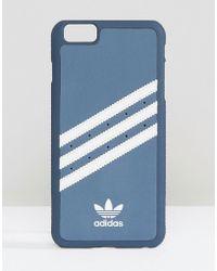 adidas Originals - Iphone 6/6s Plus Phone Case In Navy - Lyst