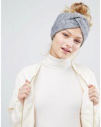 Monki - Knitted Headband - Lyst