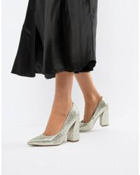 240508bab03 Lyst - Asos Panama Platform Shoes in Black