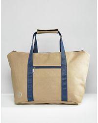 Mi-Pac - Canvas Weekend Bag Stone - Lyst
