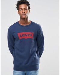 Levi's - Graphic Crew Sweatshirt - Lyst