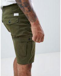 Jack & Jones - Jack And Jones Cargo Shorts - Lyst