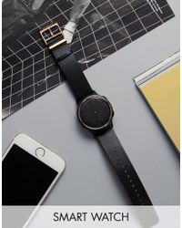 Misfit - Phase Smart Watch In Black/gold Mis5002 - Lyst