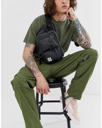 Herschel Supply Co. - Rionera negra con diseo sombreado de 6 l Eighteen de - Lyst