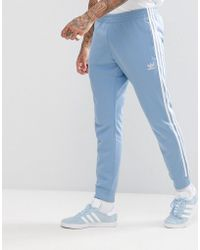 adidas Originals - Adicolor Superstar Joggers In Blue Cw1277 - Lyst