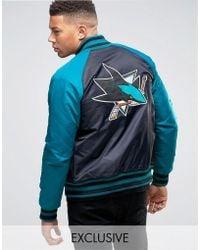 Majestic Filatures - Sharks Souvenir Jacket Exclusive To Asos - Lyst