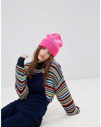 Monki - Beanie Hat - Lyst