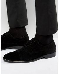 ALDO - Gaville Suede Oxford Shoes - Lyst