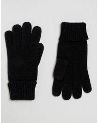 Esprit - Basic Gloves - Lyst