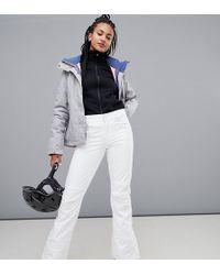 Roxy - Creek Ski Trouser In White - Lyst