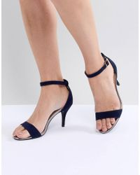 Oasis | Barely There Heeled Sandals | Lyst