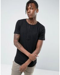 Avior | T-shirt With Chest Detail | Lyst