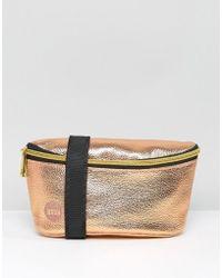Mi-Pac - Bum Bag Metallic Rose Gold - Lyst