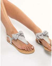 Lipsy - Sandal With Bow Detail - Lyst