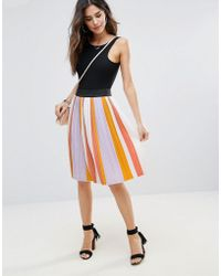 b990c859b1 Women's Soaked In Luxury Skirts - Lyst