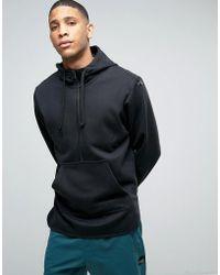 adidas Originals - Berlin Pack Eqt Half Zip Scallop Hoodie In Black Bk7182 - Lyst