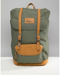 d5a0ae212b1 Adidas Originals Classic Backpack In Linen Khaki Bk7051 for Men - Lyst