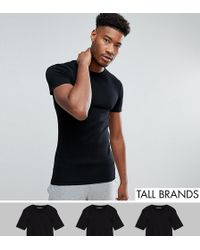 French Connection - Tall 3 Pack Lounge T-shirt - Lyst