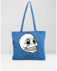 Cheap Monday - Logo Tote Bag - Lyst