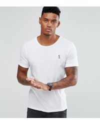 Religion - T-shirt With Rolled Sleeves - Lyst