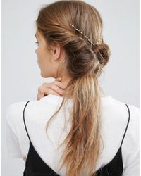 ASOS - Limited Edition Twist Back Hair Crown - Lyst