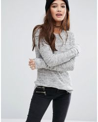 Pull&Bear | Long Sleeve Knitted Jumper | Lyst