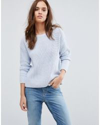 SELECTED - Knit Pullover Top - Lyst